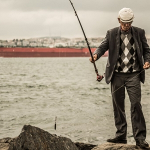 Pescatore sul Bosforo