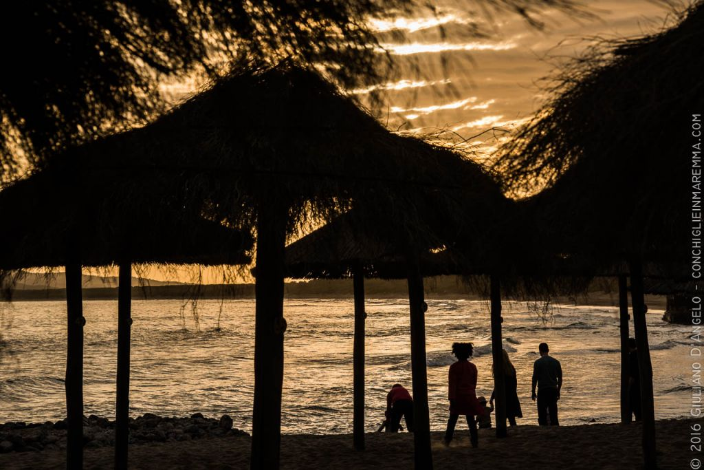 Cosa e Ansedonia, spiaggia all'Argentario