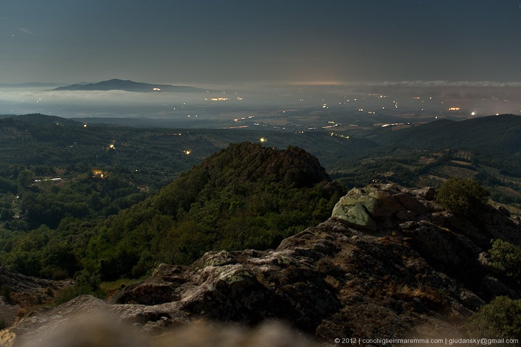 Panorama da Roccatederighi