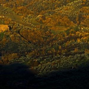 Ombra del Montelabro sulle pendici dell'Amiata
