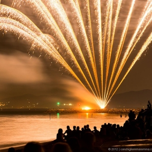 Fuochi d'artificio il 16 Agosto a Marina di Grosseto