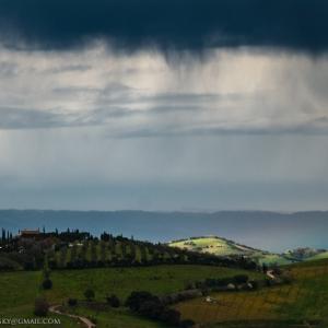 Pasquetta di pioggia sulla Val di Rigo