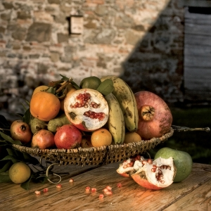 frutta in giardino