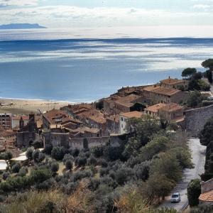 Panoramica di Castiglione, Cartolina