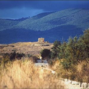 L'abbazia al Fango sull'Isola Clodia