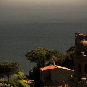 Sommità del borgo di Castiglione, Panoramica