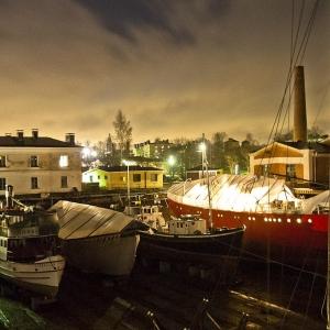Navi in secca, isola di Suommenlina, Helsinki