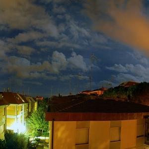 Panorama sui tetti di via Podgora, Grosseto