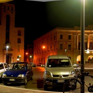 Panoramica, piazza della Vasca