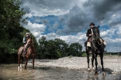 Via Clodia a cavallo