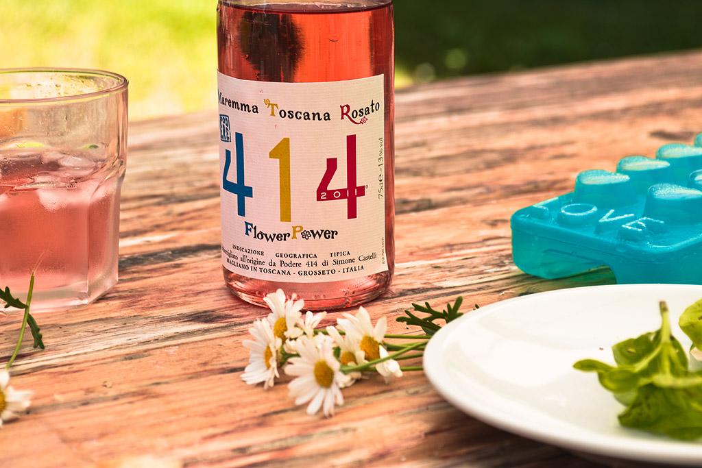 Flower Power Pink Wine