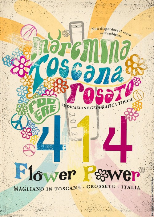 Flower Power concept poster