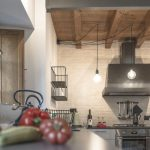 Cucina ferro e frutta