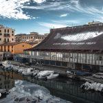 Acciunga, tetto e canale